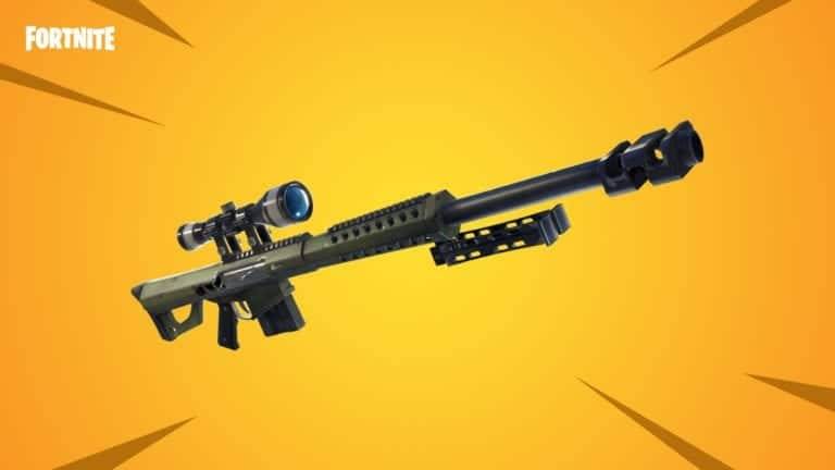 Fortnite Update V5.21 thêm Heavy Sniper Rifle và nerf Minigun