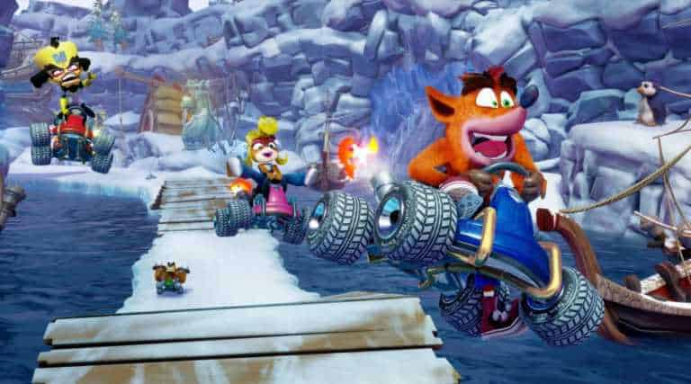 Đua xe cáo Crash Team Racing: Nitro Fueled ra mắt video gameplay