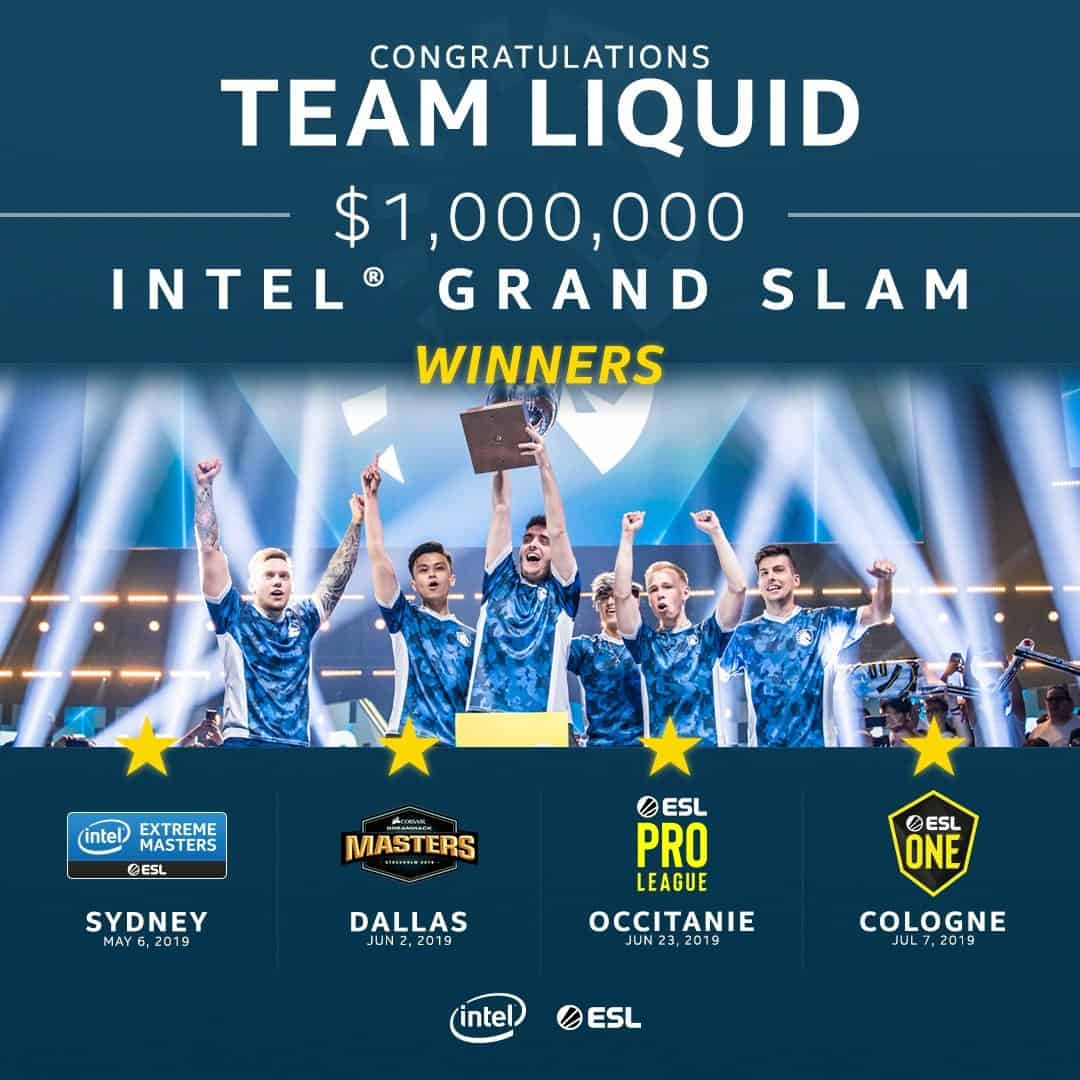 Liquid vô địch ESL One Cologne 2019
