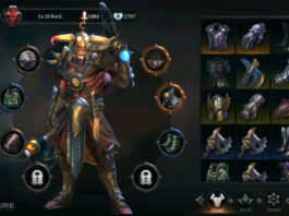 Raziel Dungeon Arena, game mobile hack & slash mang âm hưởng Diablo